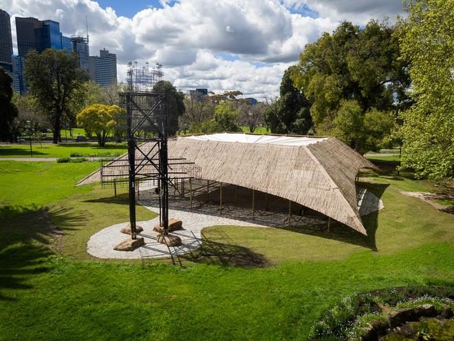 Nhà tre siêu đẹp giữa công viên của triệu phú Australia - ảnh 5