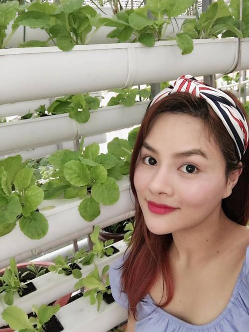 Vườn rau sạch trong ngôi nhà triệu đô của sao Việt - ảnh 10