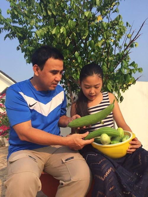 Vườn rau sạch trong ngôi nhà triệu đô của sao Việt - ảnh 26