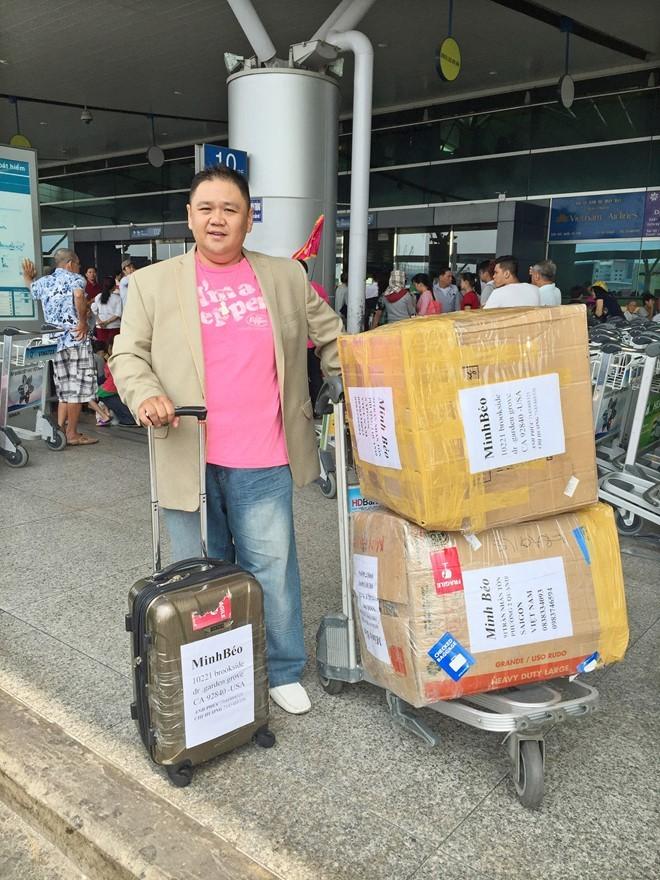 Nghệ sĩ Minh Béo bị bắt giữ tại Mỹ - ảnh 1