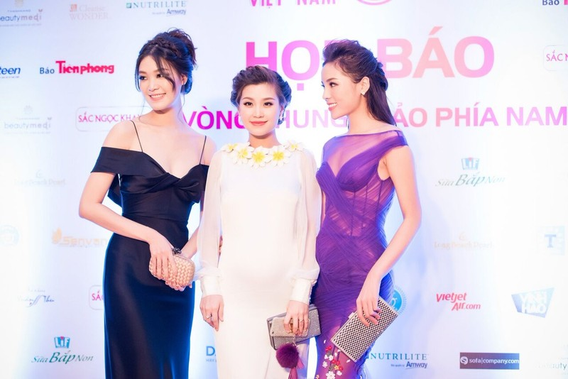 Dàn hoa hậu, người đẹp đọ sắc trước 'Hoa hậu Việt Nam 2016' - ảnh 1