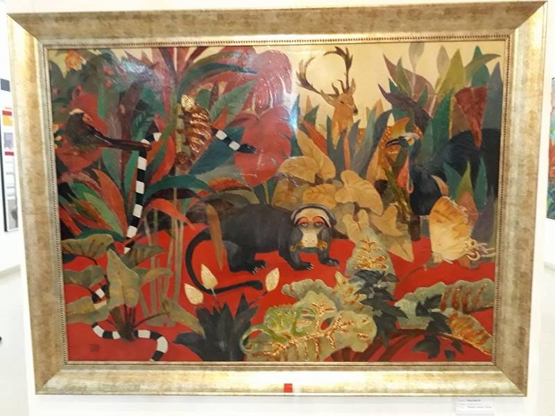 Góc nhìn trái ngược trong triển lãm tranh người và thú - ảnh 6
