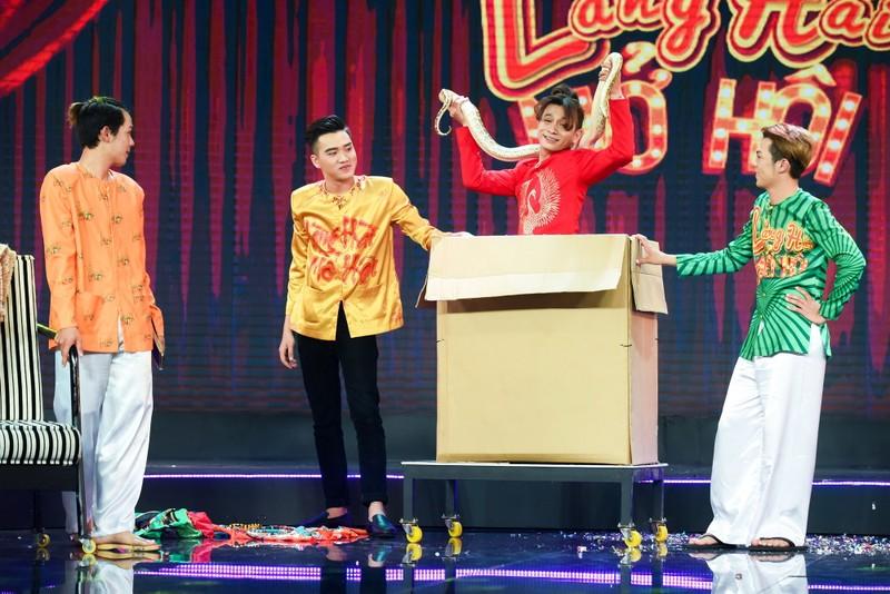 Gala 'Làng hài mở hội' nhiều nhóm cũ với nhiều trò mới - ảnh 1