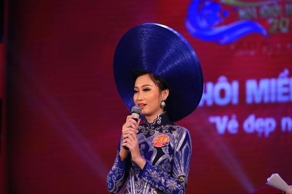 Đoàn Thị Hồng Trang đăng quang Hoa khôi miền Trung 2016 - ảnh 2