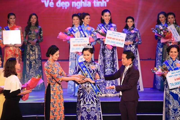 Đoàn Thị Hồng Trang đăng quang Hoa khôi miền Trung 2016 - ảnh 5