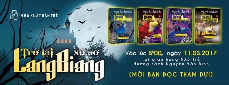 Bìa sách mới của Chuyện xứ Langbiang.
