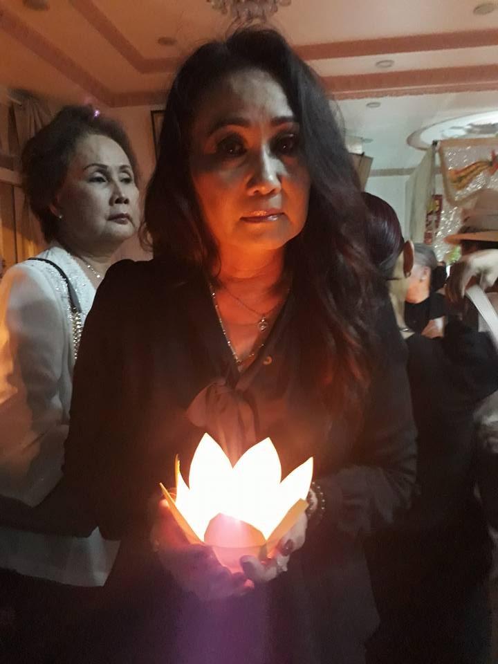 Nghẹn ngào đêm cuối tiễn biệt nghệ sĩ Thanh Sang - ảnh 4
