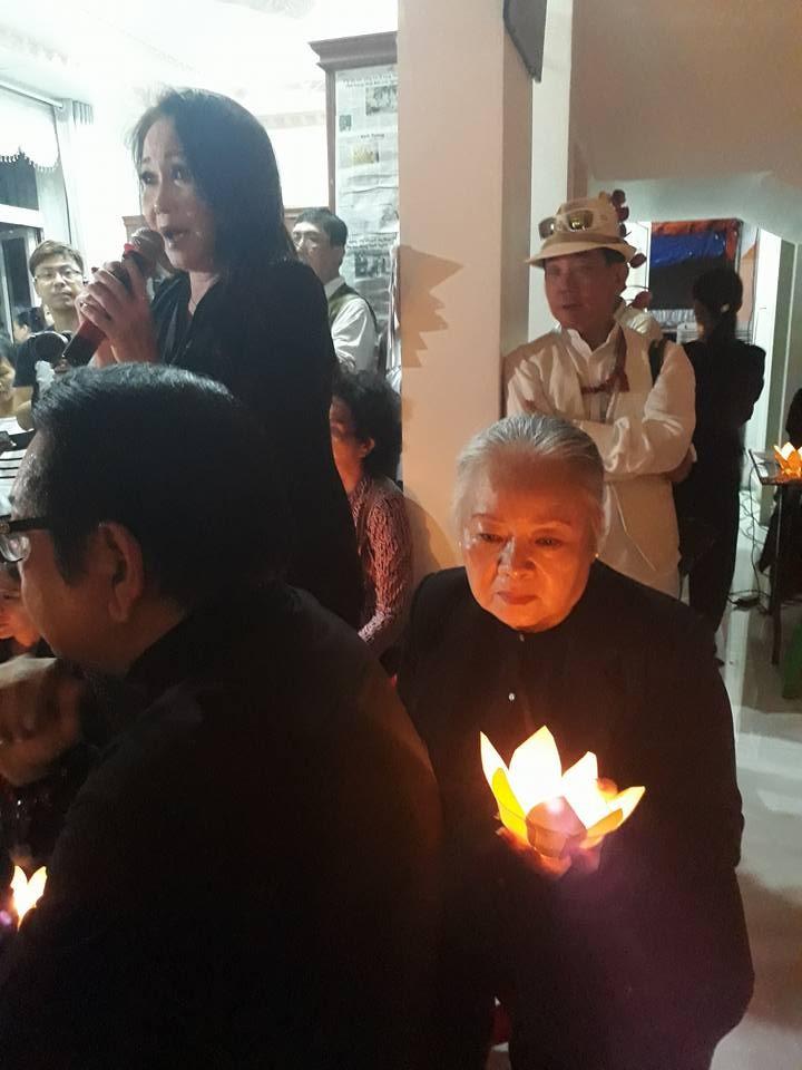 Nghẹn ngào đêm cuối tiễn biệt nghệ sĩ Thanh Sang - ảnh 3