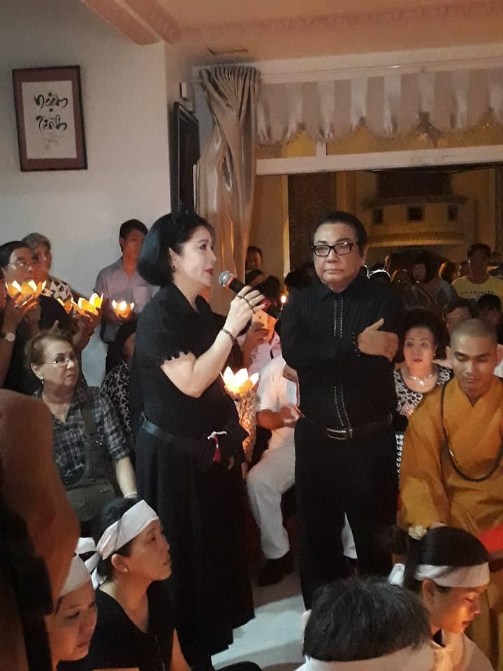 Nghẹn ngào đêm cuối tiễn biệt nghệ sĩ Thanh Sang - ảnh 2