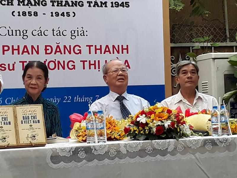Ra mắt: Lịch sử các chế độ báo chí ở Việt Nam 1858-1945 - ảnh 1