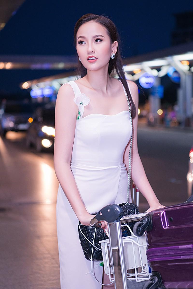 Khánh Ngân bất ngờ dự Miss Globe 2017 tại Albanial - ảnh 4