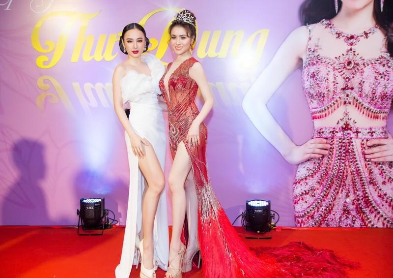 Ngắm hoa hậu sắc đẹp hoàn mỹ toàn cầu Thư Dung - ảnh 1