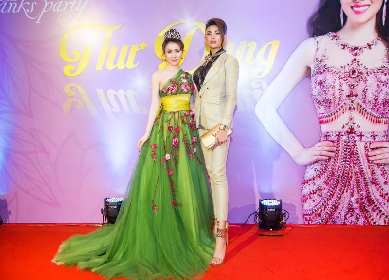 Ngắm hoa hậu sắc đẹp hoàn mỹ toàn cầu Thư Dung - ảnh 3