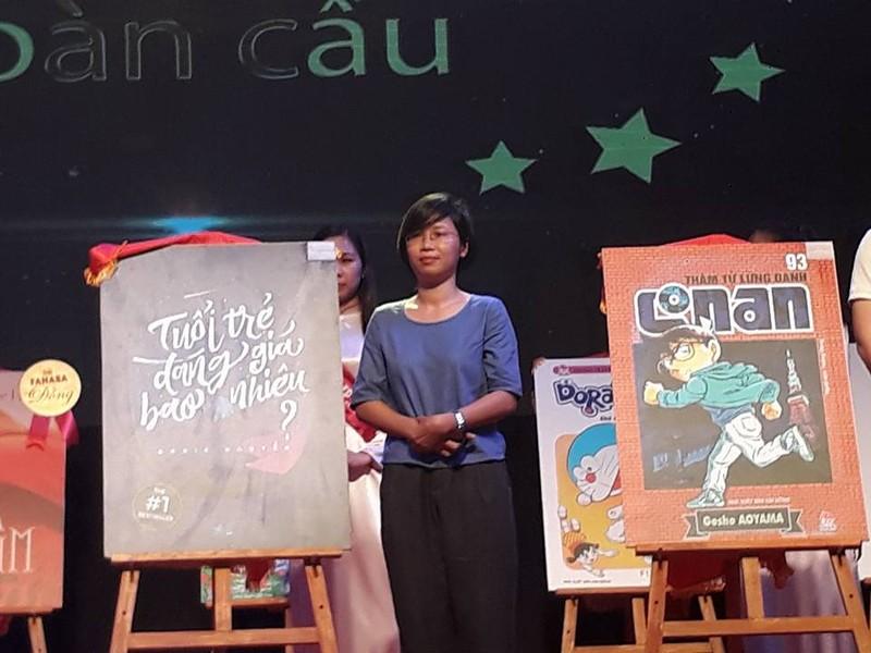 Tác giả trẻ Rosie Nguyễn nhận giải Sách được yêu thích - ảnh 1