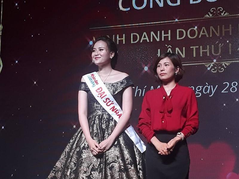 Hoa hậu Hoàn cầu Khánh Ngân thành đại sứ nhân ái - ảnh 1