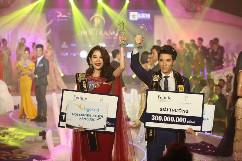 Chị gái Nam Em đăng quang 'Người mẫu Thời trang VN'   - ảnh 1