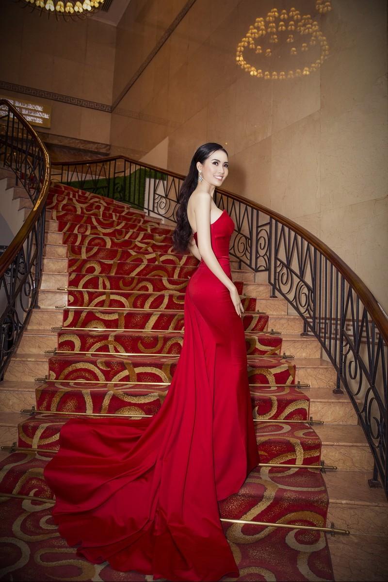 Phan Thị Mơ khoe nhan sắc quyết giành vương miện hoa hậu - ảnh 3