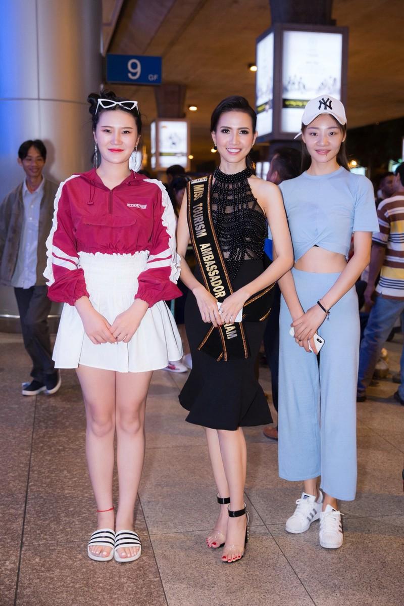 Hoa hậu quốc tế đổ bộ đến VN dự World Miss Tourism Ambassador - ảnh 4