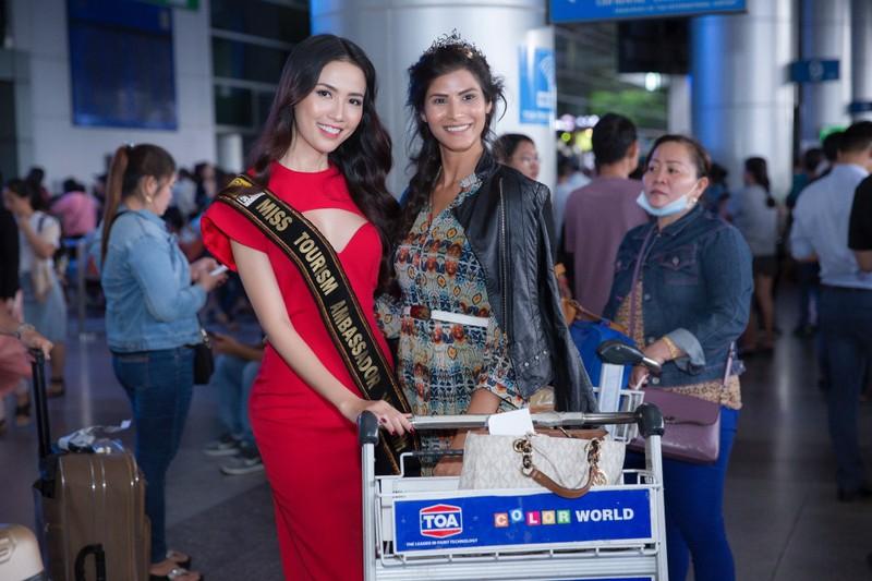 Hoa hậu quốc tế đổ bộ đến VN dự World Miss Tourism Ambassador - ảnh 2