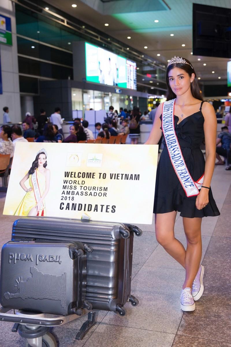 Hoa hậu quốc tế đổ bộ đến VN dự World Miss Tourism Ambassador - ảnh 7