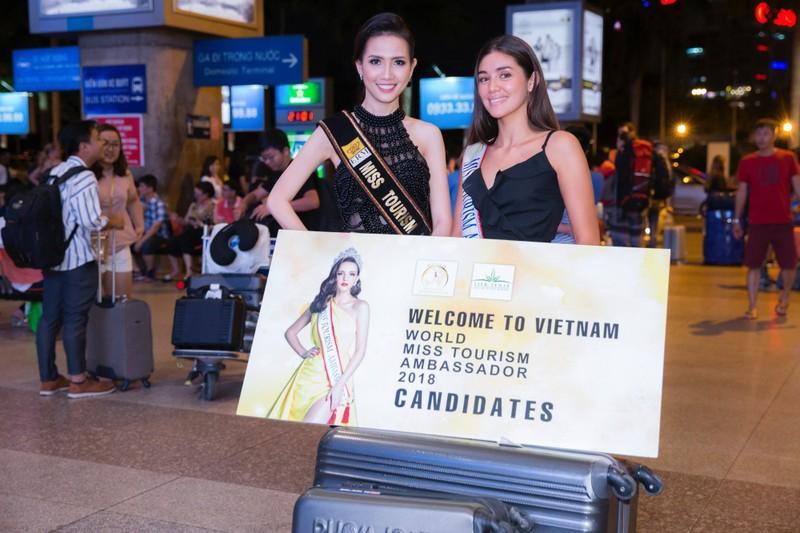 Hoa hậu quốc tế đổ bộ đến VN dự World Miss Tourism Ambassador - ảnh 9