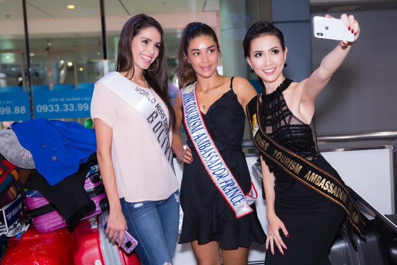 Hoa hậu quốc tế đổ bộ đến VN dự World Miss Tourism Ambassador - ảnh 10