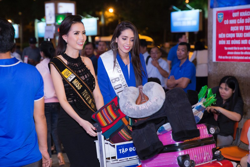 Hoa hậu quốc tế đổ bộ đến VN dự World Miss Tourism Ambassador - ảnh 11