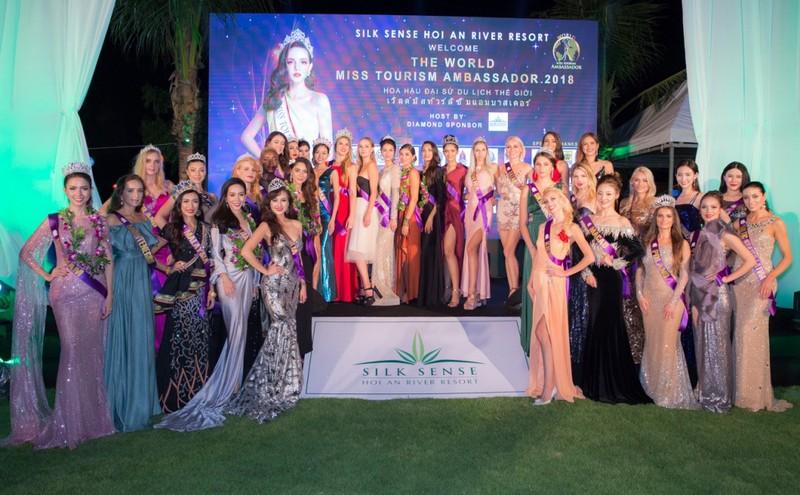 Cận cảnh nhan sắc 50 hoa hậu quốc tế tại Hội An - ảnh 1