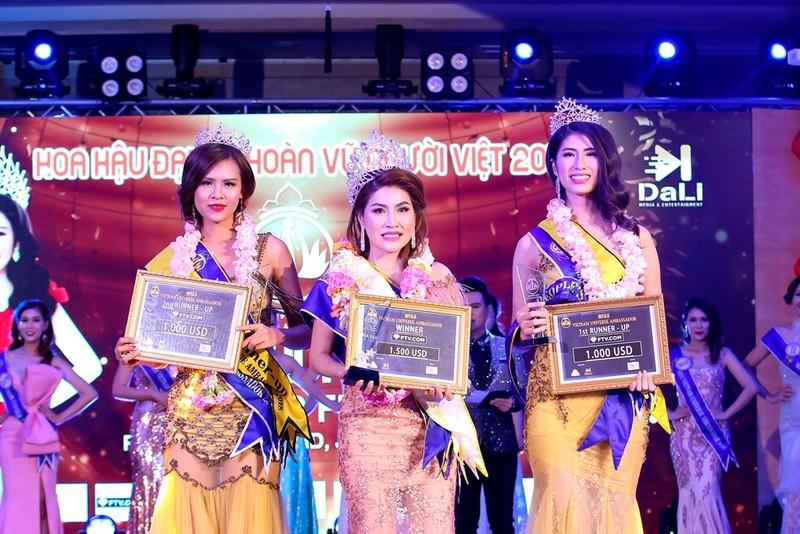 Mai Thị Ngọc Hiệp đăng quang Hoa hậu Đại sứ Hoàn vũ người Việt - ảnh 1