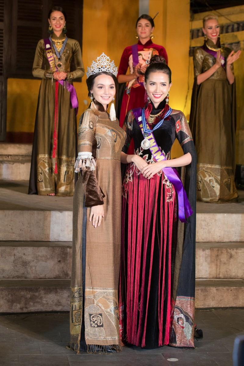 Philippines đạt giải trình diễn áo dài đẹp nhất tại Hội An - ảnh 5