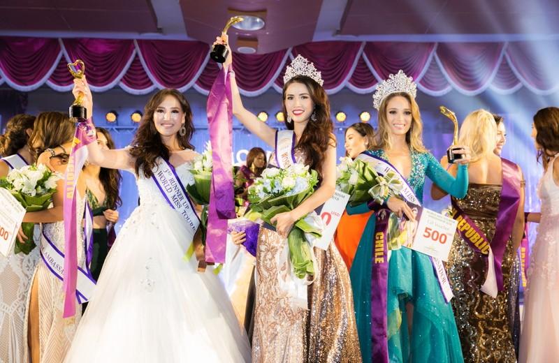 Phan Thị Mơ đăng quang Hoa hậu Đại sứ du lịch Thế giới 2018 - ảnh 10