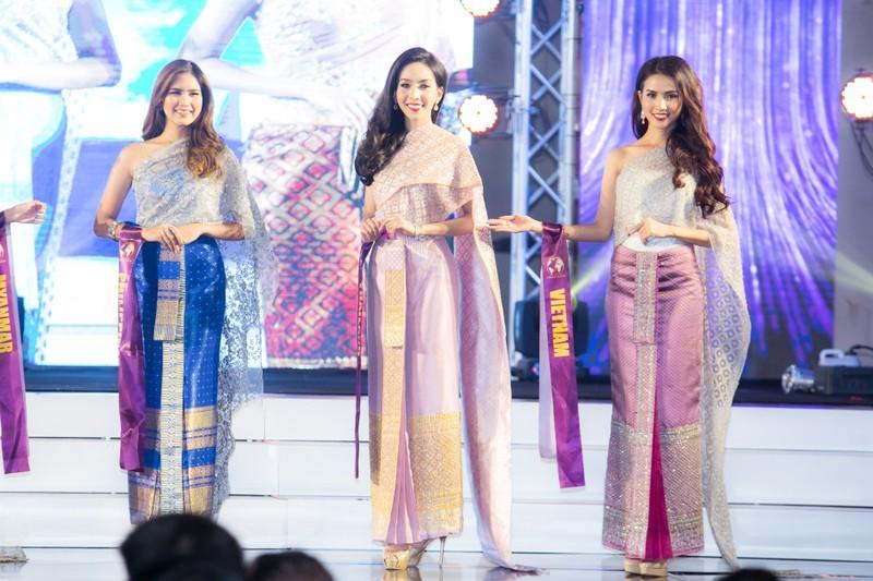 Phan Thị Mơ đăng quang Hoa hậu Đại sứ du lịch Thế giới 2018 - ảnh 12