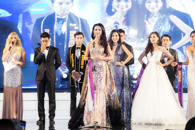 Phan Thị Mơ đăng quang Hoa hậu Đại sứ du lịch Thế giới 2018 - ảnh 13