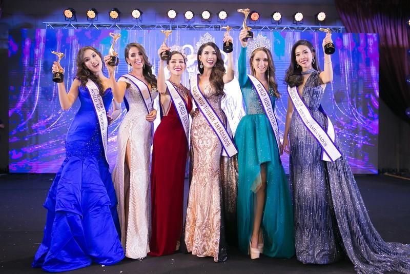Phan Thị Mơ đăng quang Hoa hậu Đại sứ du lịch Thế giới 2018 - ảnh 14