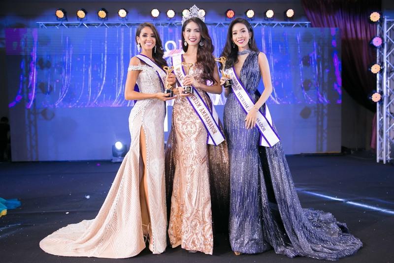 Phan Thị Mơ đăng quang Hoa hậu Đại sứ du lịch Thế giới 2018 - ảnh 2