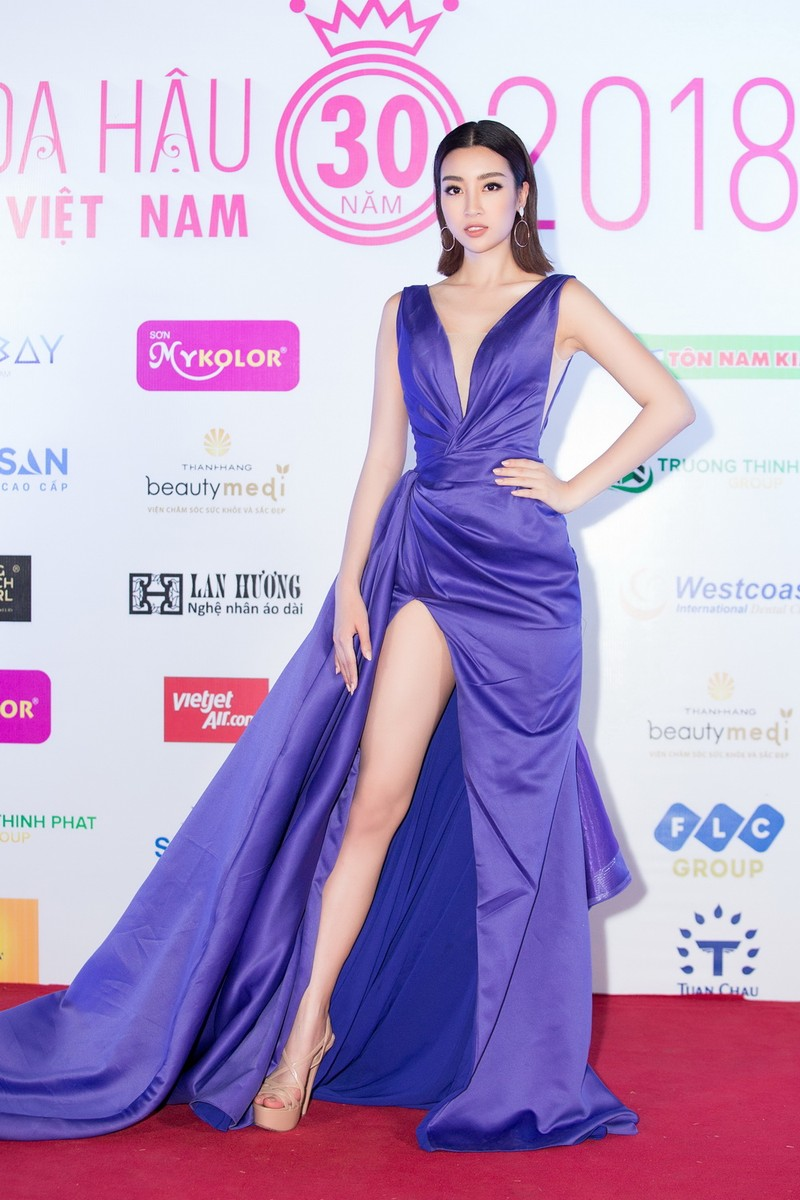 Kỳ Duyên đọ sắc cùng hoa hậu Mỹ Linh và đàn chị Hà Kiều Anh - ảnh 1
