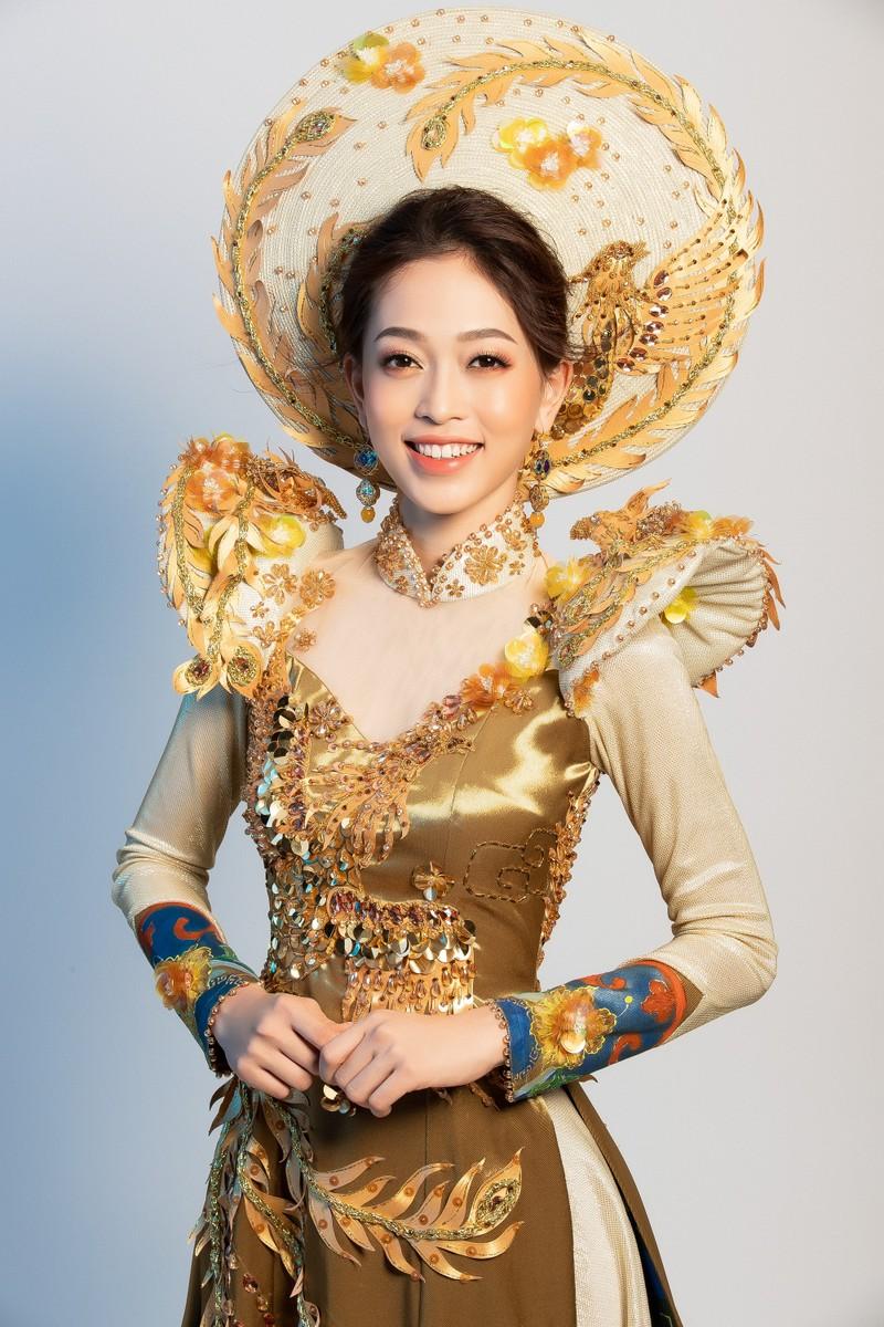 Phương Nga sẽ mặc 'quốc phục Ngũ phụng tề phi' tại Miss Grand - ảnh 1