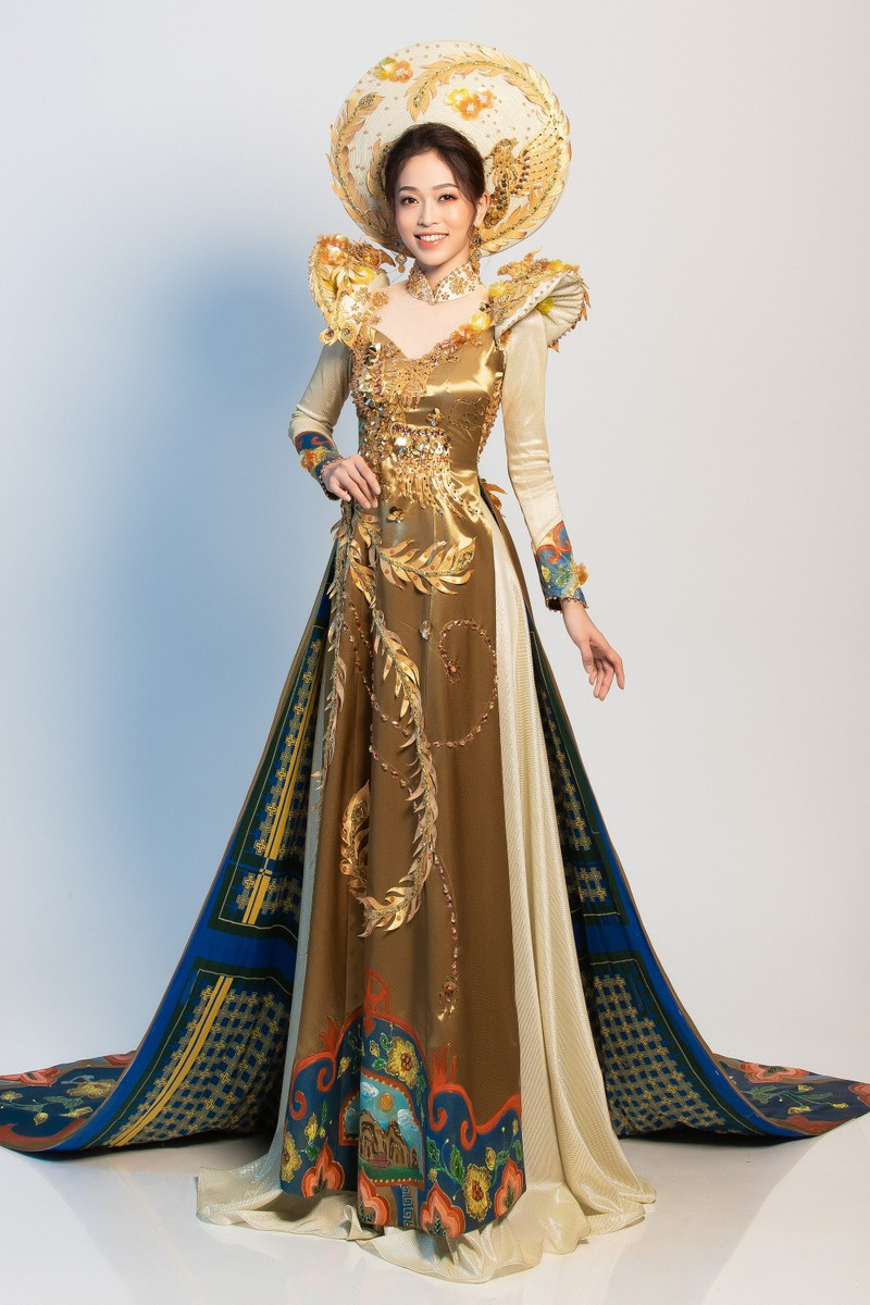 Phương Nga sẽ mặc 'quốc phục Ngũ phụng tề phi' tại Miss Grand - ảnh 2