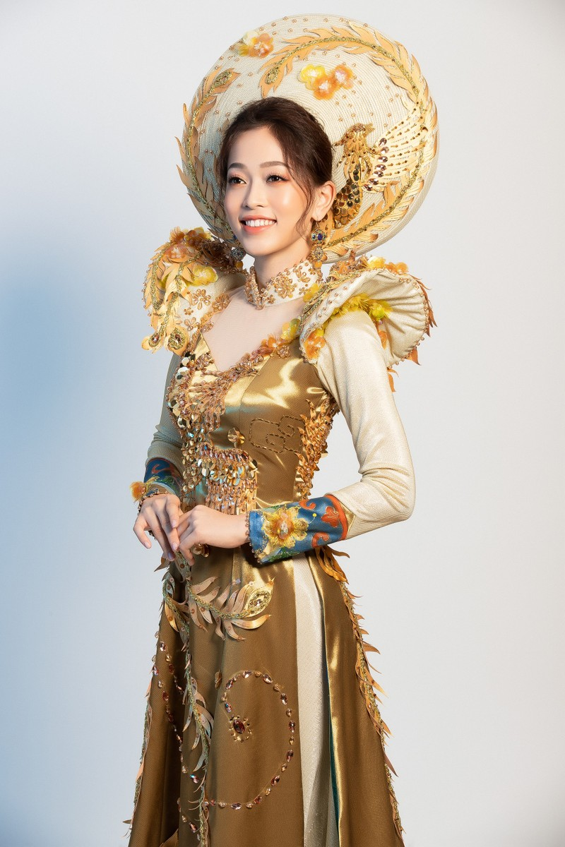 Phương Nga sẽ mặc 'quốc phục Ngũ phụng tề phi' tại Miss Grand - ảnh 3