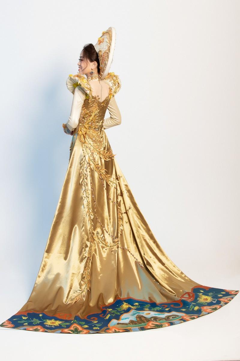Phương Nga sẽ mặc 'quốc phục Ngũ phụng tề phi' tại Miss Grand - ảnh 4