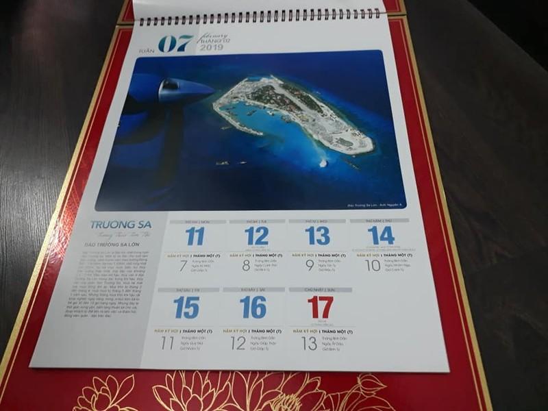 Bộ lịch độc đáo về Trường Sa thân thương của Việt Nam - ảnh 1