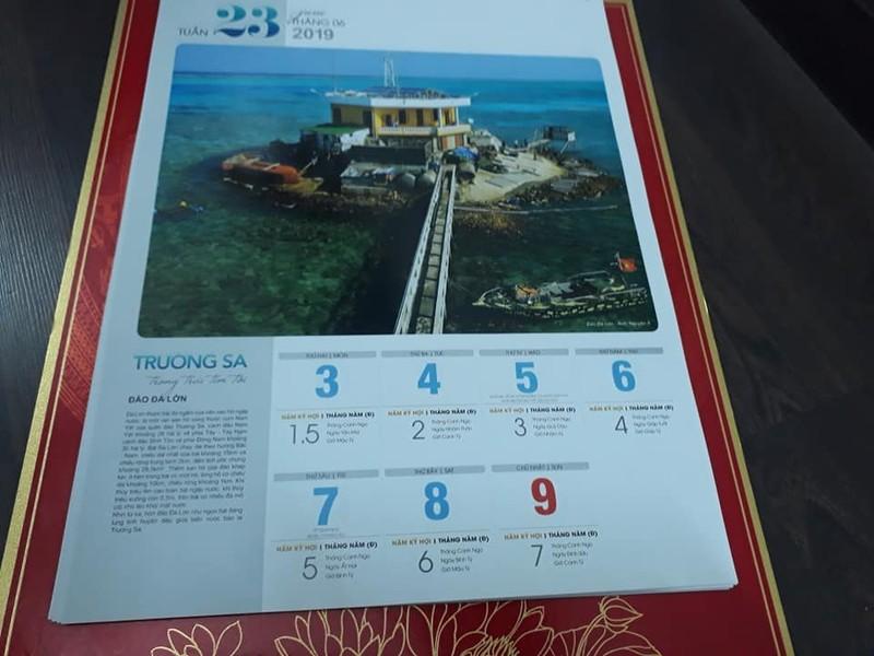 Bộ lịch độc đáo về Trường Sa thân thương của Việt Nam - ảnh 3