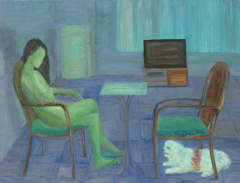 Triển lãm hành trình 1 phụ nữ u sầu, cô độc đi qua trầm cảm - ảnh 3