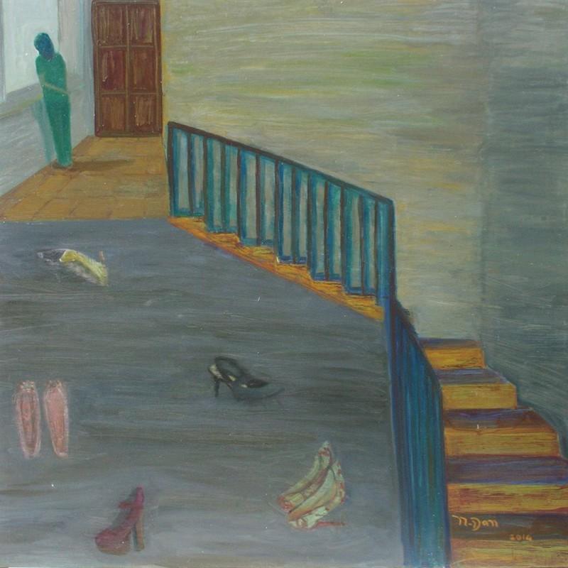 Triển lãm hành trình 1 phụ nữ u sầu, cô độc đi qua trầm cảm - ảnh 5