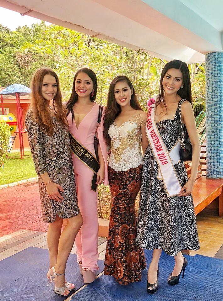 Kim Nguyên mang 150 kg quần áo thiết kế riêng thi Miss Asia  - ảnh 6
