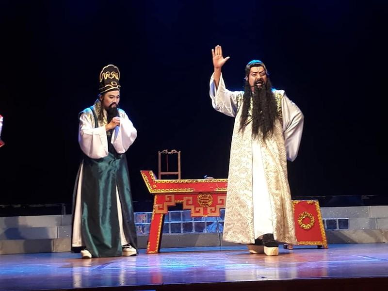 Ra mắt một sân khấu cải lương mới của Chí Linh-Vân Hà - ảnh 1
