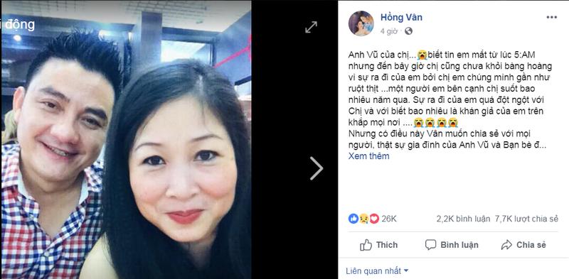 Nghệ sĩ kêu gọi quyên góp đưa thi hài Anh Vũ về nước - ảnh 2
