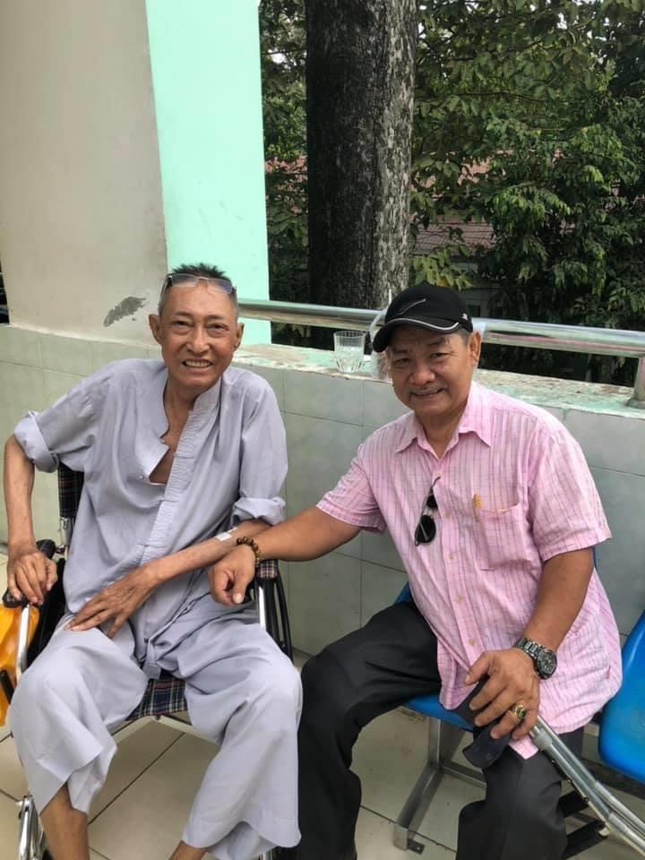 NS Lê Bình đã bị liệt,ngồi xe lăn, tìm người chăm sóc - ảnh 2