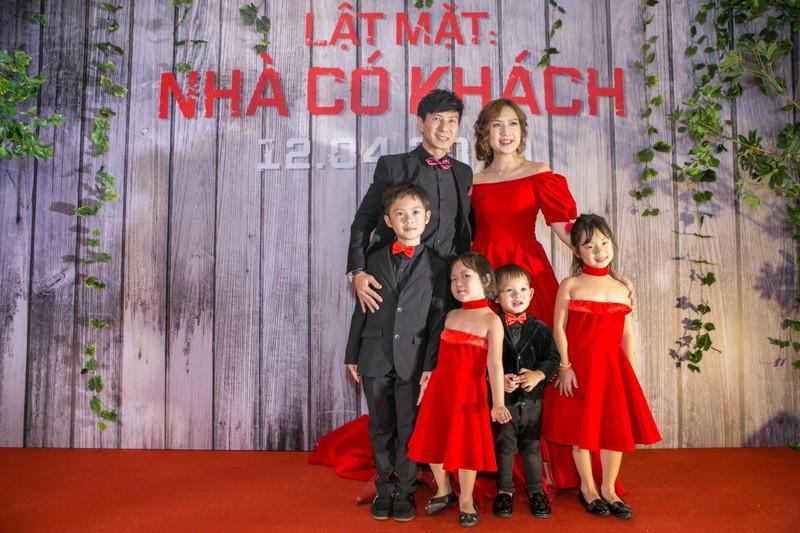 Trường Giang, Ngô Thanh Vân, sao Việt dự ra mắt 'Lật mặt 4' - ảnh 2