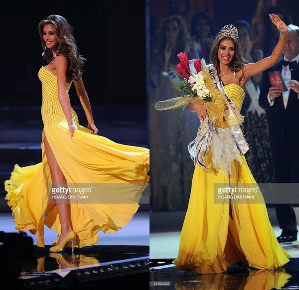 Váy dạ hội vàng của H'Hen Niê được xếp đẹp nhất thế giới - ảnh 5